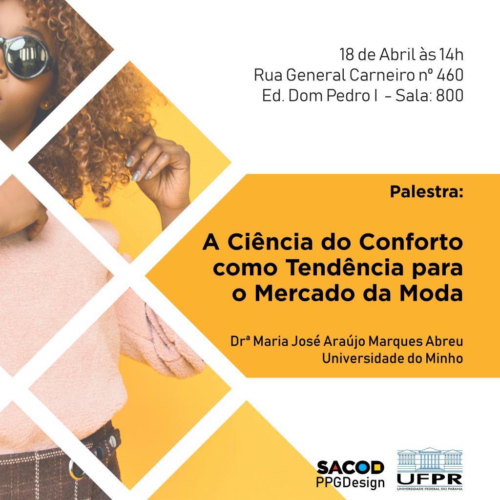 Banner Palestra profa Maria José Araújo